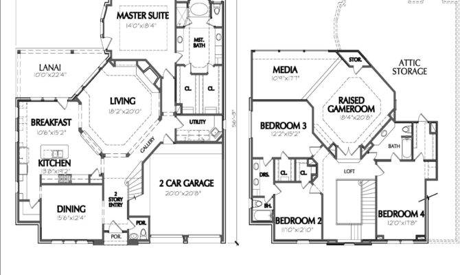 Story Home Plans Smalltowndjs