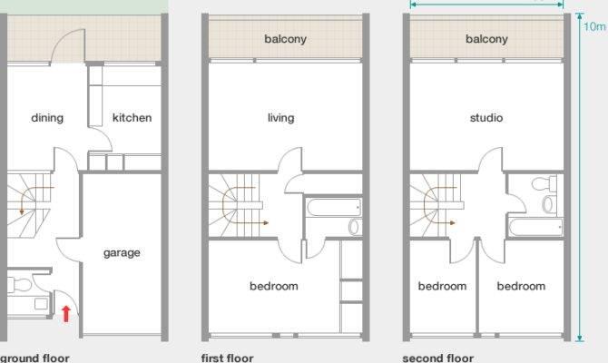 Story House Floor Plans Plan
