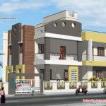 Story House Plan Elevation Kerala Home Design
