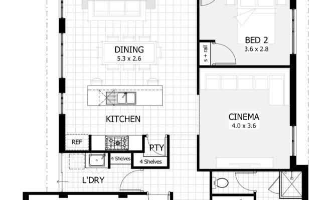 Story House Plans Narrow Lot Small