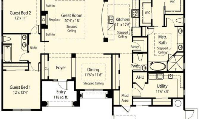 Story House Plans Walk Pantry Home Deco