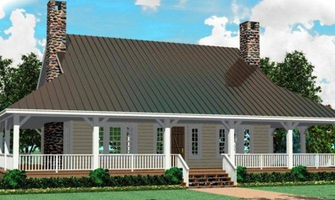 Story House Plans Wrap Around Porch