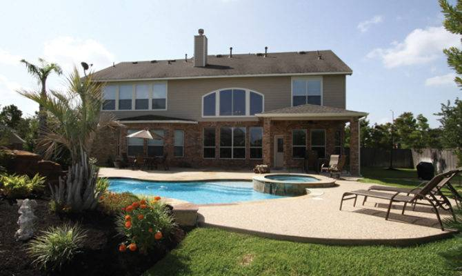 Story House Pool Beautiful Home Design