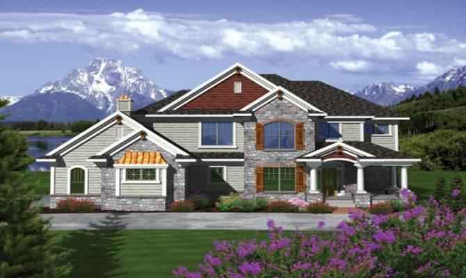 Story House Styles Modern Plan