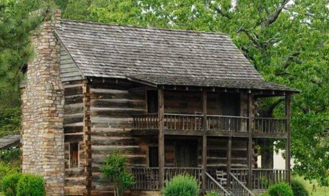 Story Log Cabin Cabins Pinterest