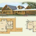 Story Log Home Floor Plans