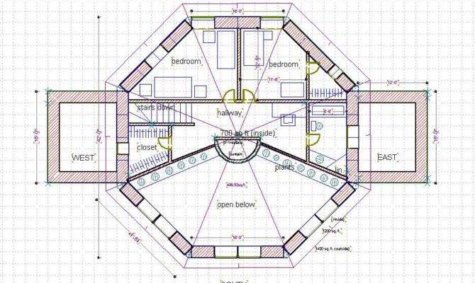 Story Octagon House Plans Plan Quotes Home