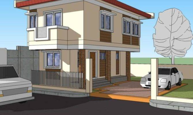 Story Simple Modern House Exterior Design Home Decor