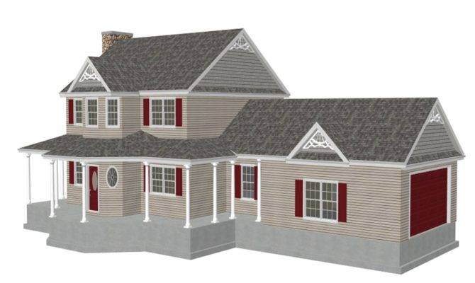 Story Small House Plans
