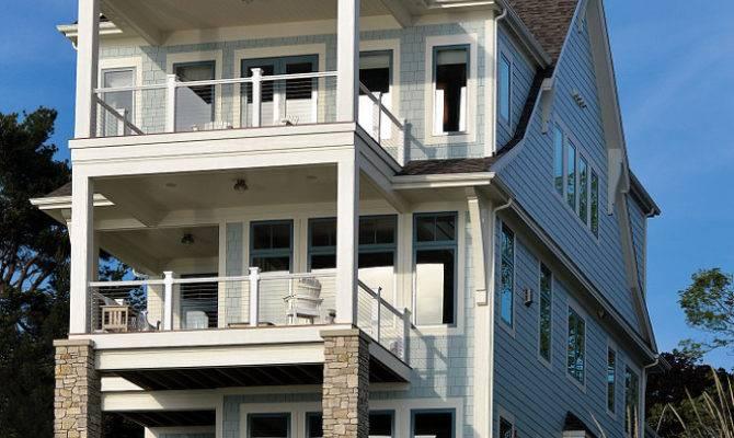 Storybook Shingle Beach House Coastal Interiors