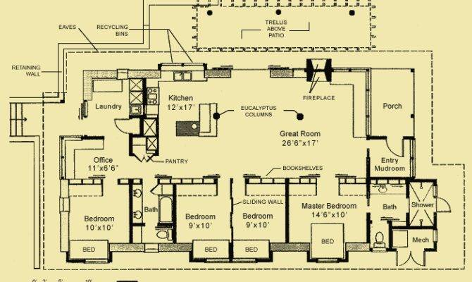 Straw Bale House Home Plans Design