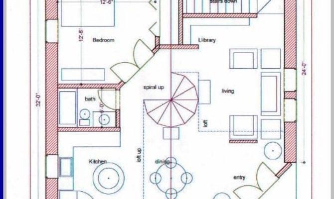 Straw Bale House Plan