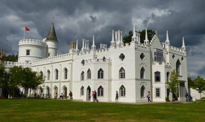 Strawberry Hill Gothic Castle