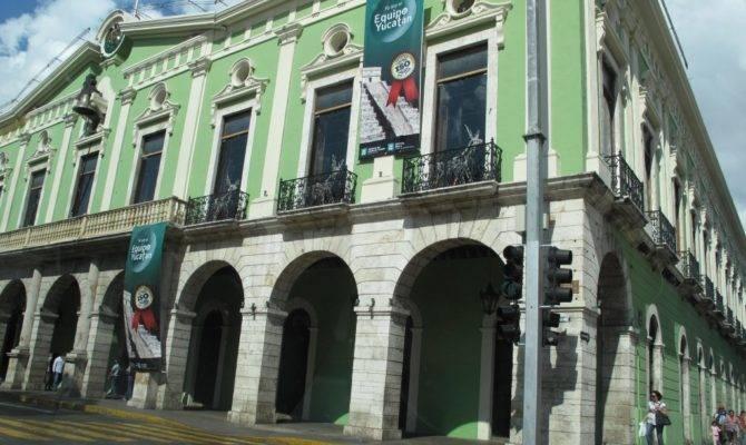 Streets Merida Facades Colonial Homes Lacasapark