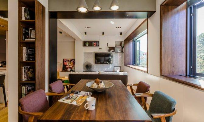 Strikingly Creative Apartment Remodel Taipei Before