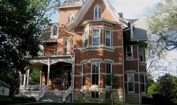 Striped Brick Mansion Mount Vernon Flickr
