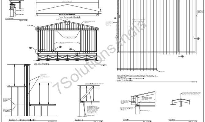 Structural Outsourcing Services Drafting Design