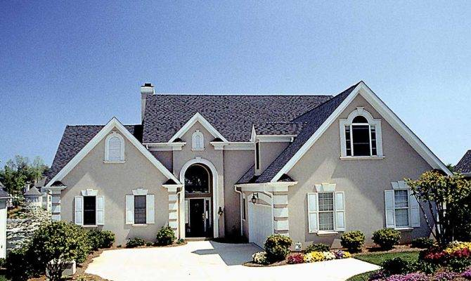 Stucco European Architectural Designs House