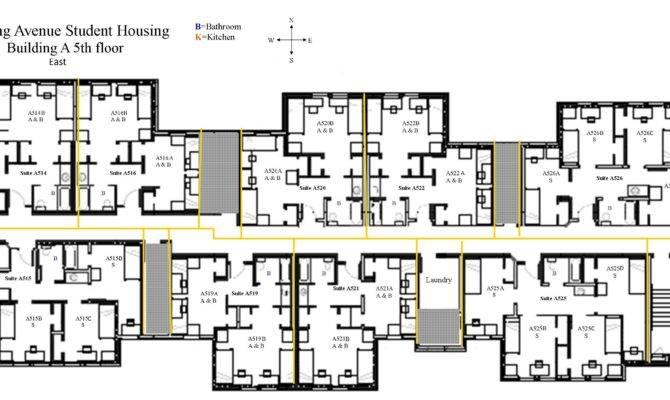Student Housing Floor Plans Gurus