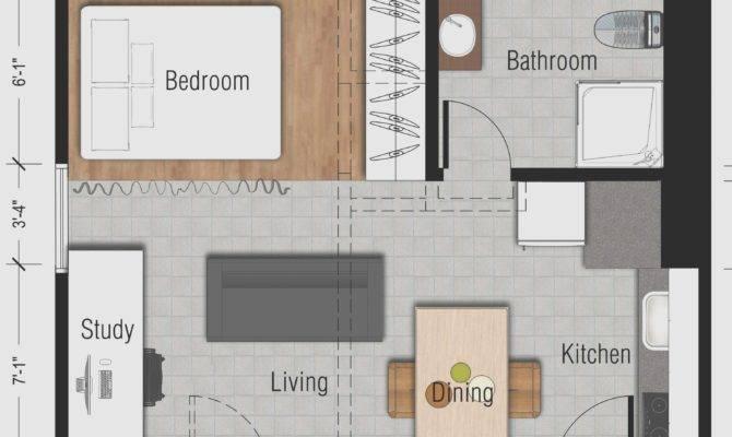 Studio Apartment Design Ideas Square Feet Beautiful