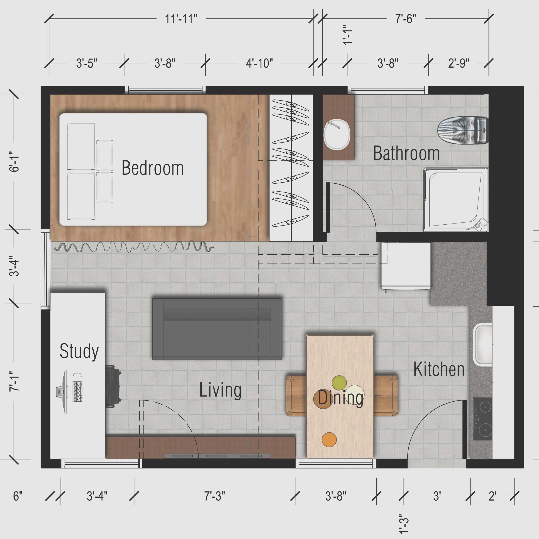 Studio Apartment Design Ideas Square Feet Beautiful House Plans 143104