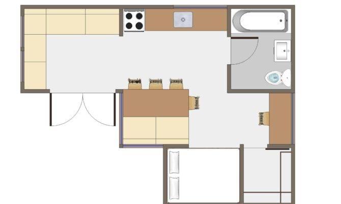Studio Apartment Design Layouts Small