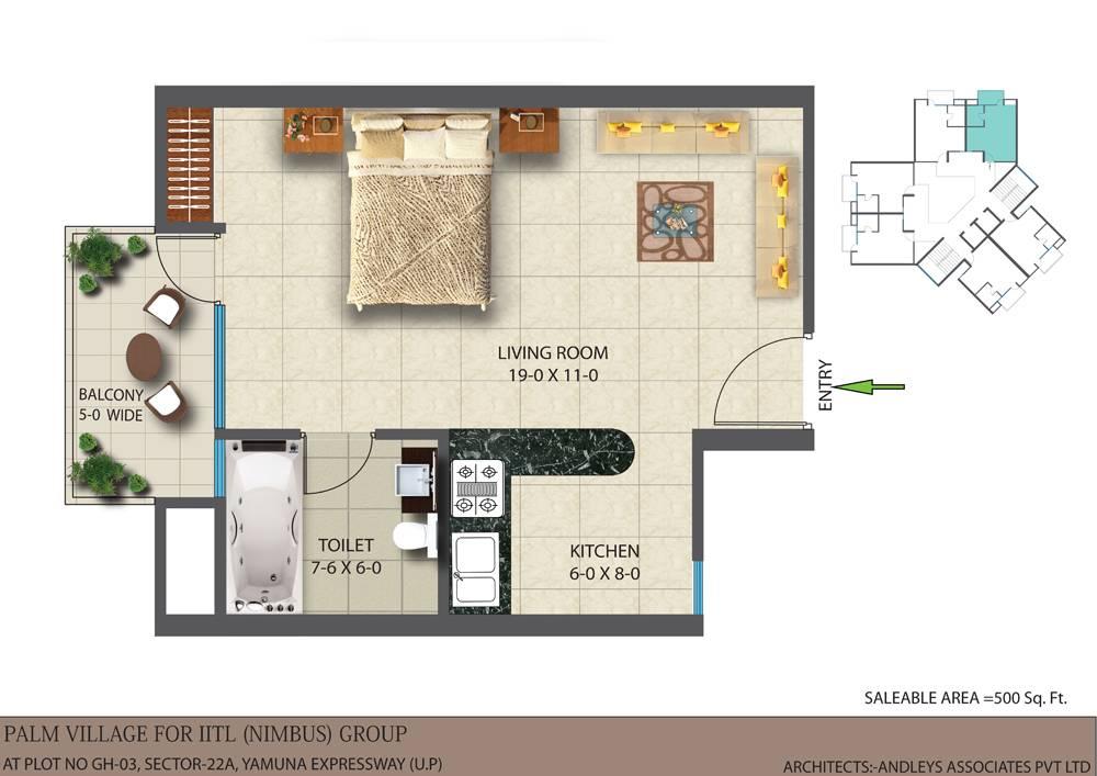 Studio Apartment Floor Plan House Plans 58081,Teak Wood Main Door Simple Design