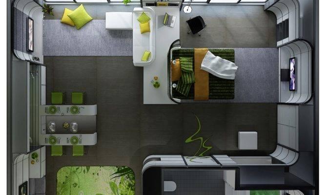 Studio Apartment Floor Plans Home Decorating Guru