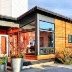 Studio Modern Prefab Cottage Small Living