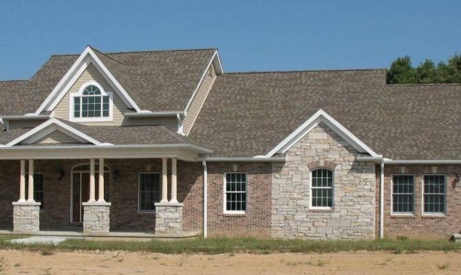 Stunning Brick Stone House Ideas Architecture Plans