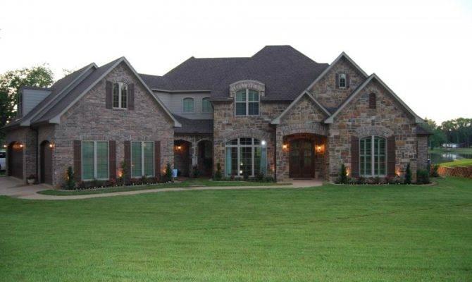 Stunning Brick Stone House