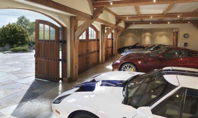 Stunning Home Car Garage Designs Ideas Decoration Design