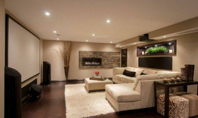 Stunning Ideas Designing Contemporary Basement