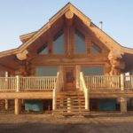 Stunning Log Homes Designed Pioneer