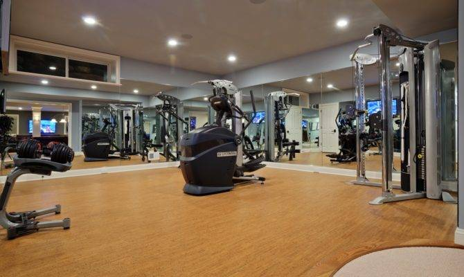 Stunning Luxury Home Gym Design Contemporary Decoration