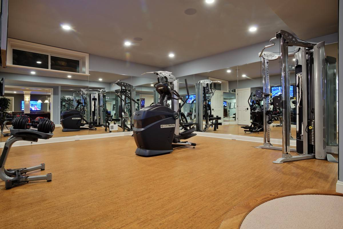 Stunning Luxury Home Gym Design Contemporary Decoration ...