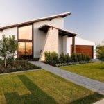 Stunning Modern House Design Stylish Porch