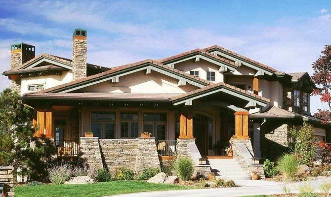 Stunning Mountain Home Plan Butler Walk
