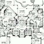 Stunning Single Story Luxury House Plans
