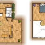 Stunning Small Cabin Plans Loft