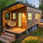 Stunning Tiny House Custom Built Gooseneck Flatbed Trailer