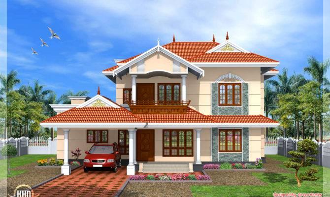 Style Bedroom Home Design Kerala Floor Plans