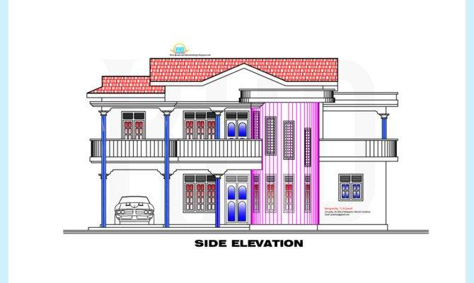 Style Home Plan Elevation Indian House Plans