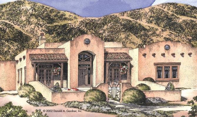 Style Home Southwestern House Plans Abwatches