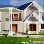 Style House Design Area Bhk Plan