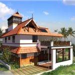 Style House Kerala Traditional Home Square Feet