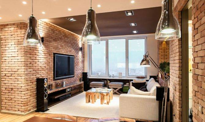 Stylish Laconic Functional New York Loft Style Interior Design