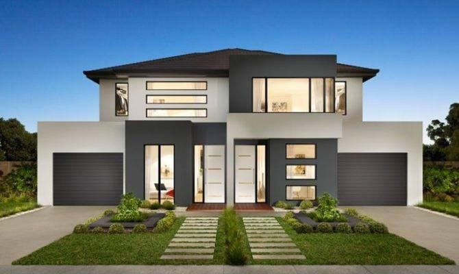 Stylish Modern Duplex House Design Exterior Pinterest