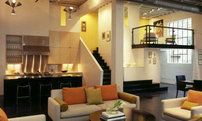Stylish Modern Loft Poteet Architects Idesignarch