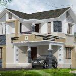 Stylish Small Home Design Kerala Floor Plans